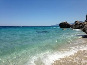 Am Strand von Gala Fuili